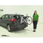 Thule  Trunk Bike Racks Review - 2015 Ford Focus