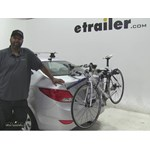 Thule  Trunk Bike Racks Review - 2015 Hyundai Accent
