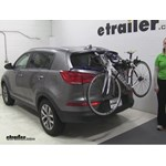 Thule  Trunk Bike Racks Review - 2015 Kia Sportage