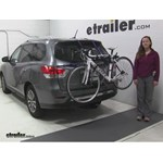 Thule  Trunk Bike Racks Review - 2015 Nissan Pathfinder
