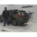 Thule  Trunk Bike Racks Review - 2015 Subaru Outback Wagon