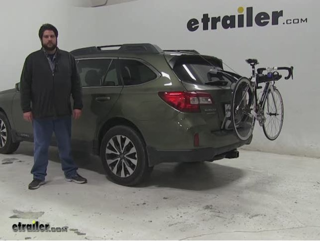 See On This 2017 Subaru Outback Wagon We Re Going To Be Test Ing The Thule Raceway Pro Bike Rack Part Number Th9001pro As You Can Have A