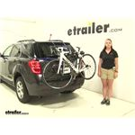 Thule  Trunk Bike Racks Review - 2016 Chevrolet Equinox