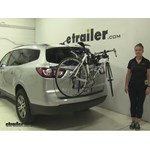 Thule  Trunk Bike Racks Review - 2016 Chevrolet Traverse