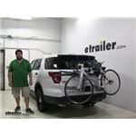 Thule  Trunk Bike Racks Review - 2016 Ford Explorer