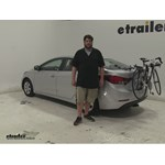 Thule  Trunk Bike Racks Review - 2016 Hyundai Elantra