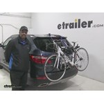 Thule  Trunk Bike Racks Review - 2016 Hyundai Santa Fe