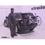 Thule  Trunk Bike Racks Review - 2016 Jeep Compass