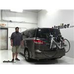 Thule  Trunk Bike Racks Review - 2016 Nissan Quest