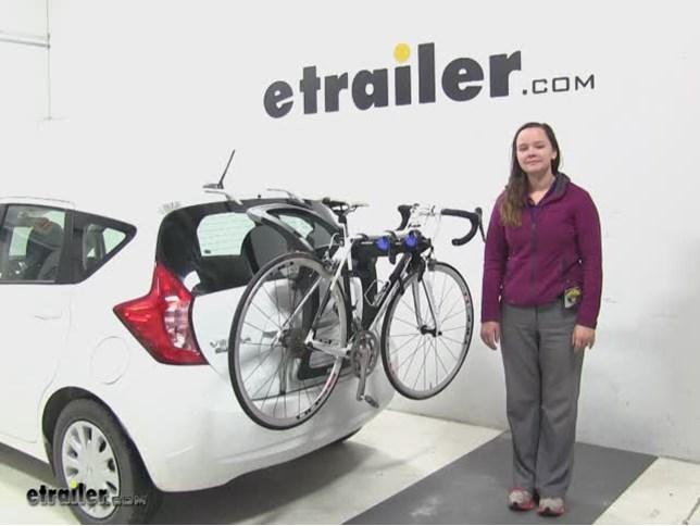 Nissan Versa Note Trunk Bike Rack