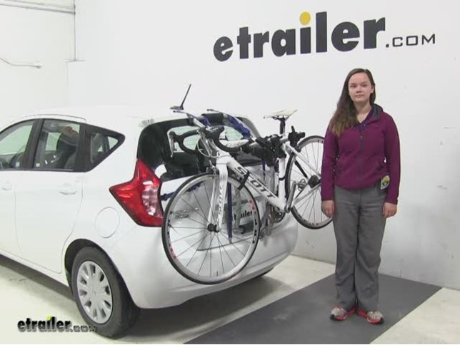 Thule Trunk Bike Racks Review 2016 Nissan Versa Note Video