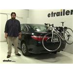 Thule  Trunk Bike Racks Review - 2016 Toyota Camry