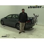 Thule  Trunk Bike Racks Review - 2016 Volkswagen Jetta