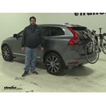 Thule  Trunk Bike Racks Review - 2016 Volvo XC60