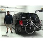 Thule  Trunk Bike Racks Review - 2017 Dodge Grand Caravan