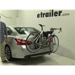 Thule  Trunk Bike Racks Review - 2017 Nissan Altima