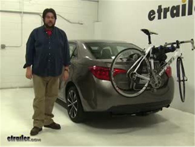 Thule Trunk Bike Racks Review 2017 Toyota Corolla