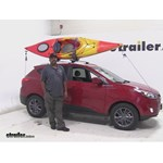 Thule Hull A Port Kayak Carrier W Tie Downs J Style