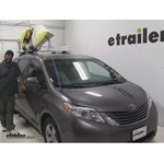 Thule Watersport Carriers Review - 2015 Toyota Sienna