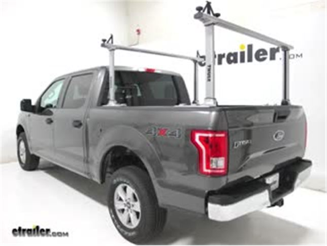 Ford F150 Rack >> Thule Ladder Racks Review 2017 Ford F 150 Video Etrailer Com