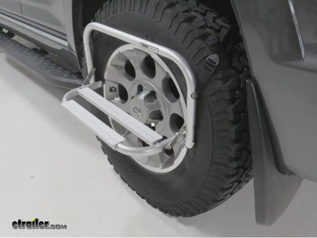 Wheel Mount Tire Step Topline Truck Bed Accessories Th2100