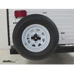 Ultra-Fab Folding Spare Tire Carrier for Trailer and RV Bumpers Review