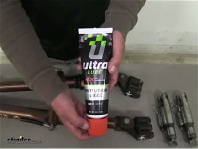 UltraLube Biobased White Lithium Grease - 8-oz Squeeze Tube