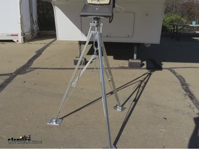 Ultra Fab 5th Wheel King Pin Tripod Stabilizer Steel