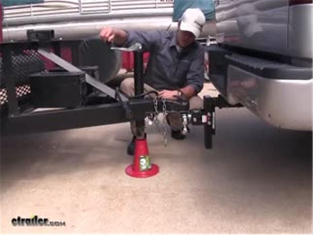 Travel Trailer Tongue Jack Stand