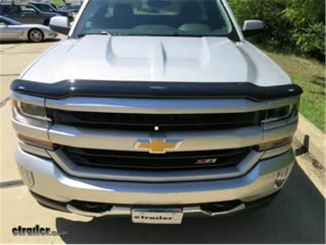 Review Weathertech Easy On Stone Bug Shield Wt on 2015 Chevy Silverado 5th Wiring