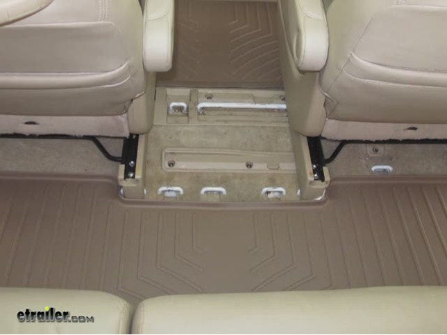 WeatherTech Third Row Floor Liner Review   2008 Honda Odyssey Video |  Etrailer.com