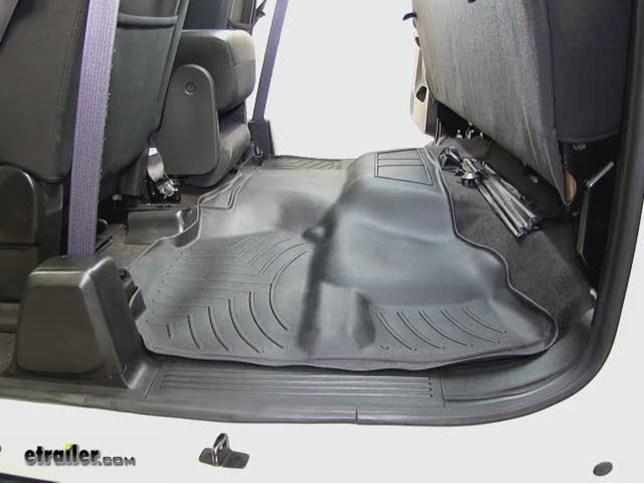 WeatherTech Rear Floor Liner Review   2010 GMC Sierra Video | Etrailer.com