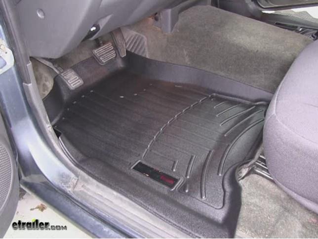 Good WeatherTech Front Floor Mats Review   2006 Chevrolet Colorado Video |  Etrailer.com
