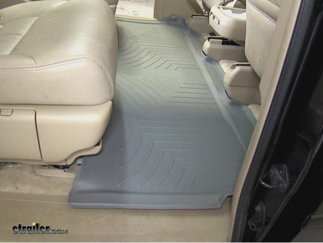 WeatherTech Rear Floor Liner Review   2006 Honda Odyssey Video |  Etrailer.com