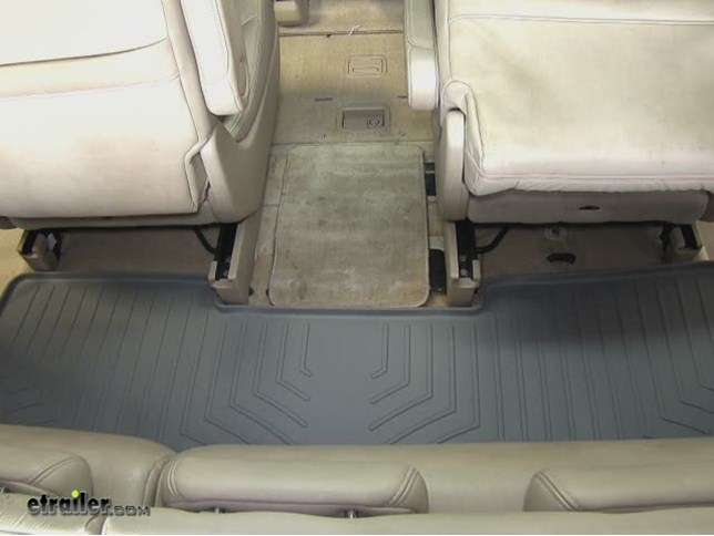 WeatherTech Third Row Floor Liner Review   2006 Honda Odyssey Video |  Etrailer.com