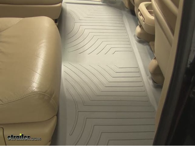 WeatherTech Rear Floor Liner Review   2007 Honda Odyssey Video |  Etrailer.com