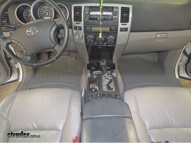 WeatherTech Front Floor Mats Review   2007 Toyota 4Runner Video |  Etrailer.com