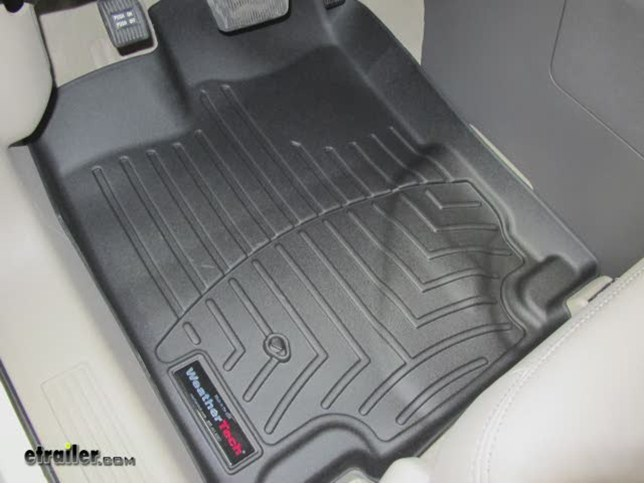 Videos Are Provided As A Guide Only Refer To Manufacturer Installation Instructions And Specs For Complete Information Video Review Weathertech Floor Mats