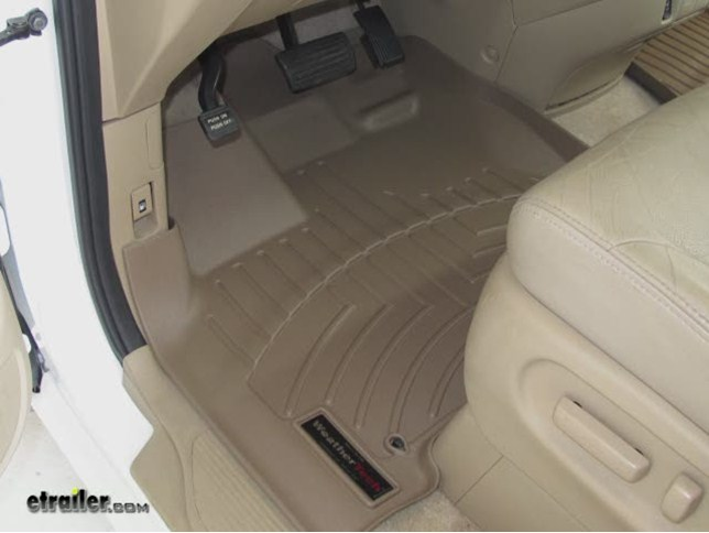 WeatherTech Front Floor Liners Review   2008 Honda Odyssey Video |  Etrailer.com
