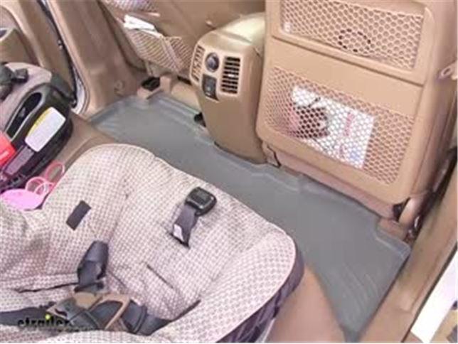WeatherTech 2nd Row Rear Floor Mat Review   2008 Honda Pilot Video |  Etrailer.com