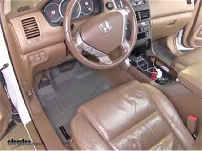 WeatherTech Front Floor Mats Review   2008 Honda Pilot Video | Etrailer.com