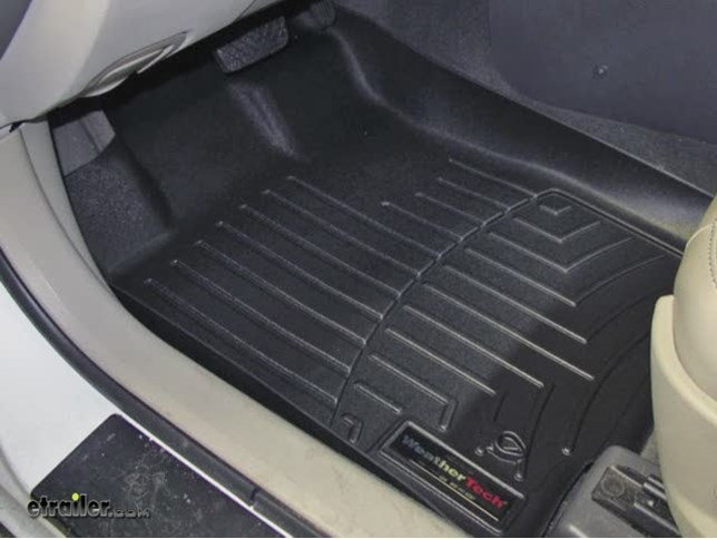 weathertech front floor mats review - 2010 ford fusion video