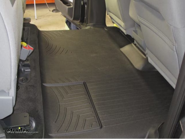 Weathertech Rear Floor Liner Review  Ford F  Video Etrailer Com