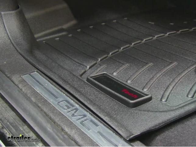 WeatherTech Front Floor Liners Review   2011 GMC Acadia Video | Etrailer.com