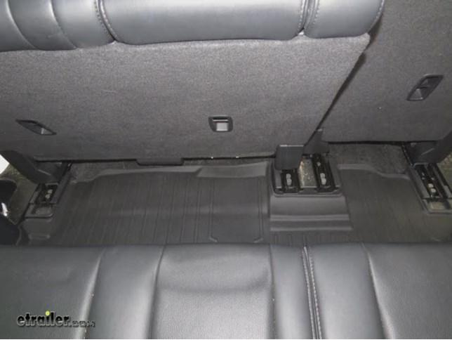 WeatherTech 3rd Row Rear Floor Mat Review   2011 Honda Pilot Video    Etrailer.com