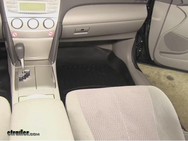 WeatherTech Front Floor Liners Review   2011 Toyota Camry Video |  Etrailer.com