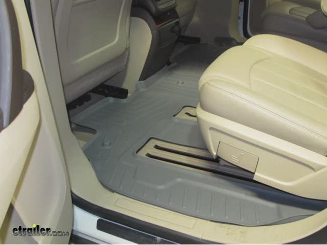 Awesome WeatherTech Rear Floor Liner Review   2012 Buick Enclave Video |  Etrailer.com