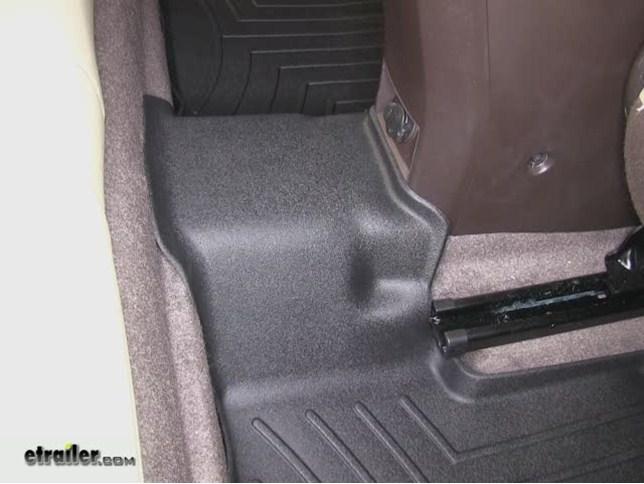 WeatherTech 2nd Row Rear Floor Mat Review   2012 Chevrolet Cruze Video |  Etrailer.com