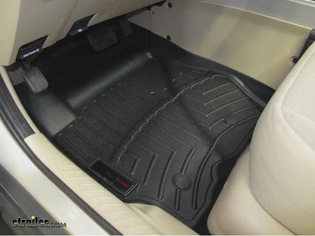 Weathertech Front Auto Floor Mats Tan Weathertech Floor