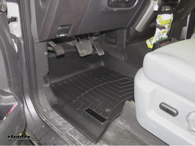 Weathertech Front Floor Mats Review  Ford F  Video Etrailer Com